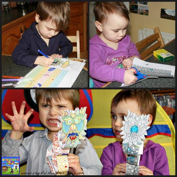 twinkl Chinese New Year Dragon, Crystal's Tiny Treasures, childminding ideas, babysitting ideas, daycare ideas, photo