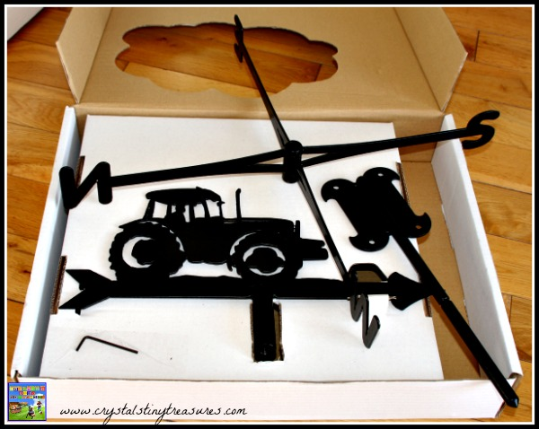 Farming Weathervane components, photo
