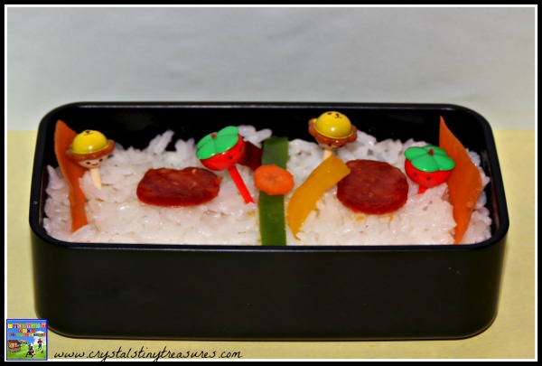 Ice hockey bento box lunch, Olympic-themed meals, fun bagged lunch, sports bento boxes, photo
