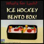 Ice Hockey Bento Box lunch by Crystal's Tiny Treasures