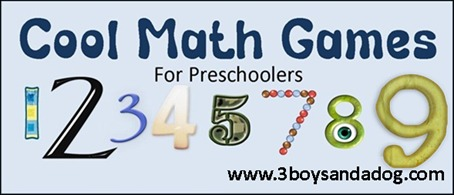 Cool math games for preschoolers, photo