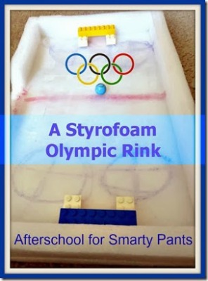 Styrofoam Olympic Rink, photo