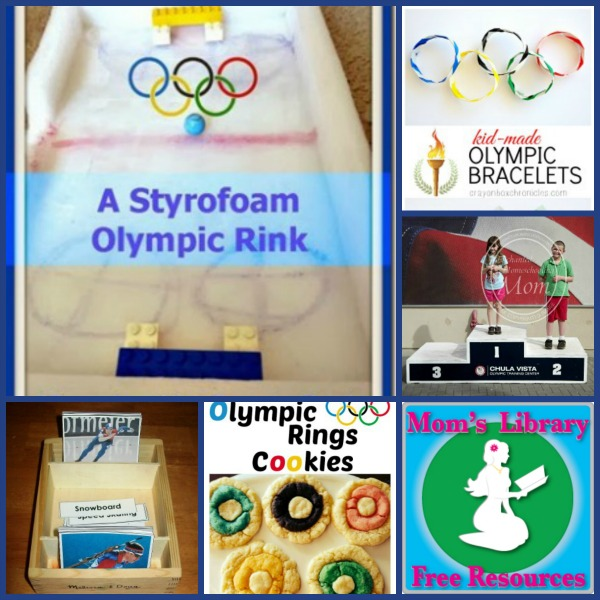 Winter Olympic Fun For Kids on Mom's Library