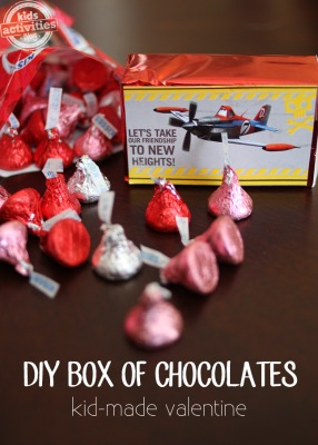 diy box of chocolates, photo