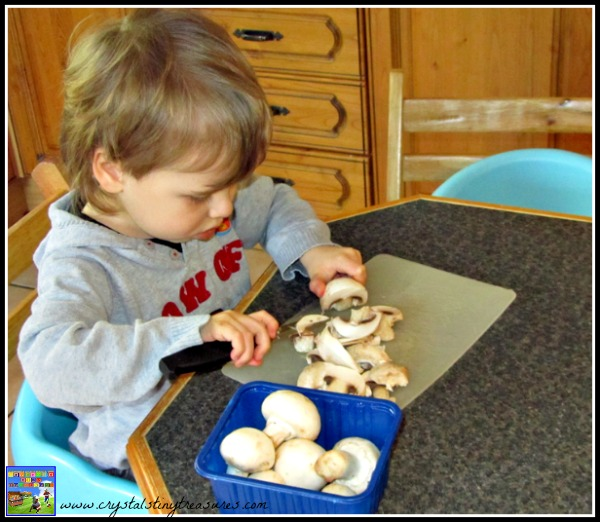 Kids helping in the kitchen, Crystal's Tiny Treasures, photo