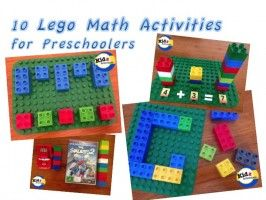 10 Lego math activities, photo