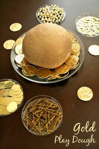 Gold-Play-Dough, photo