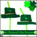 St. Patrick's Day Straws