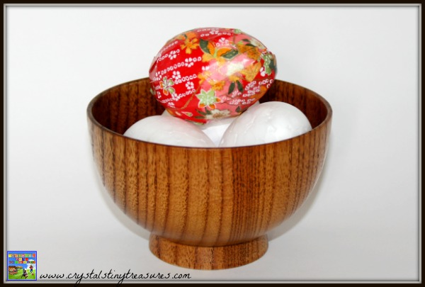 Washi paper covered Easter Egg, crafts for kids, Easter egg decorating, what to do with washi paper, washi paper crafts, Crystal's Tiny Treasures, photo