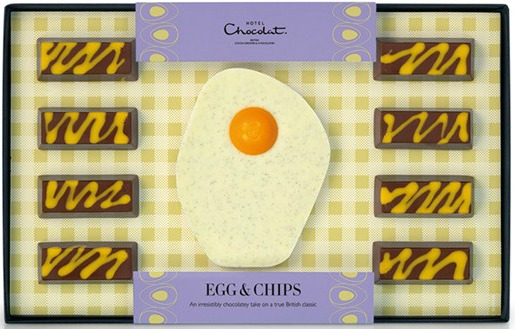 egg-and-chips, hotel chocolat review, photo
