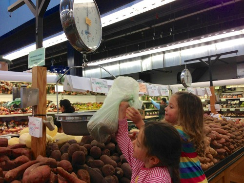 grocery shopping with kids, make it a fun learning experience!, photo