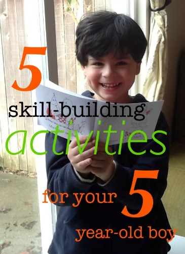 5 skill building activities for your 5 year old, photo