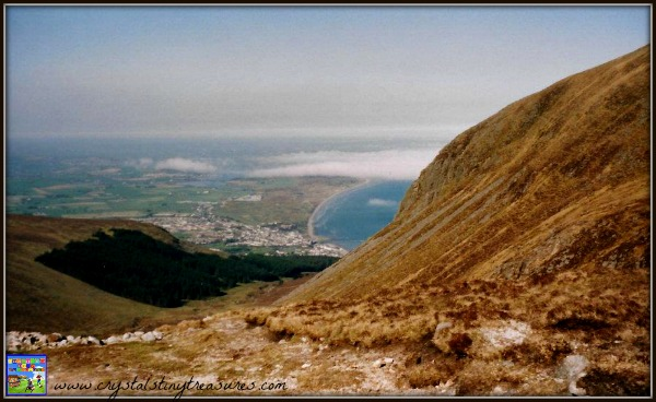 Climbing Slieve Donnard, Northern Ireland's highest point, things to do with kids in Ireland, photo