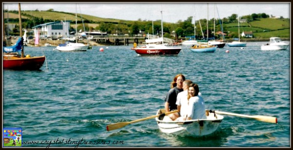 Sailing Strangford Lough, water sports near Newcastle, family fun in Northern ireland, photo