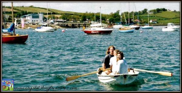 Sailing Strangford Lough, water sports near Newcastle, family fun in Northern ireland, photo