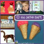 6 Egg Carton Crafts by Crystal's Tiny Treasures