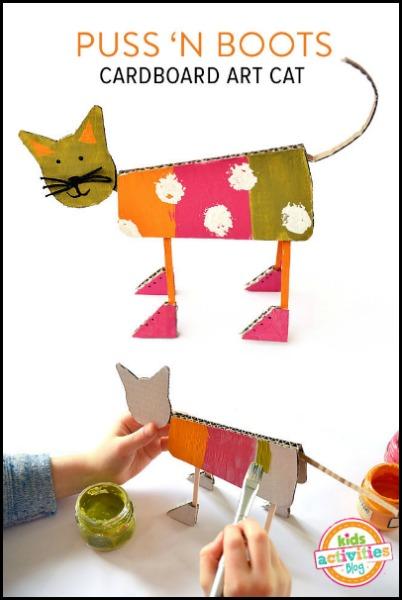 Cardboard-art-cat-mollymoo-KAB, photo