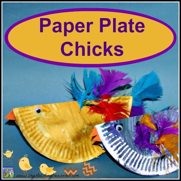Paper Plate Chicks by Castle View Academy