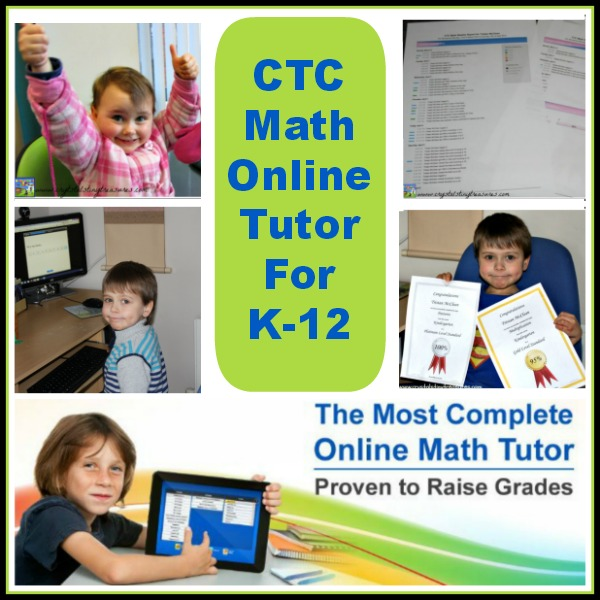 CTC Math Review, Online Math Lessons for K-12 by Crystal's Tiny Treasures
