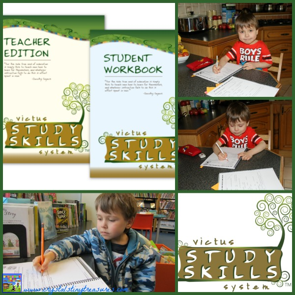 Victus Study Skills System Review by Crystal's Tiny Treasures