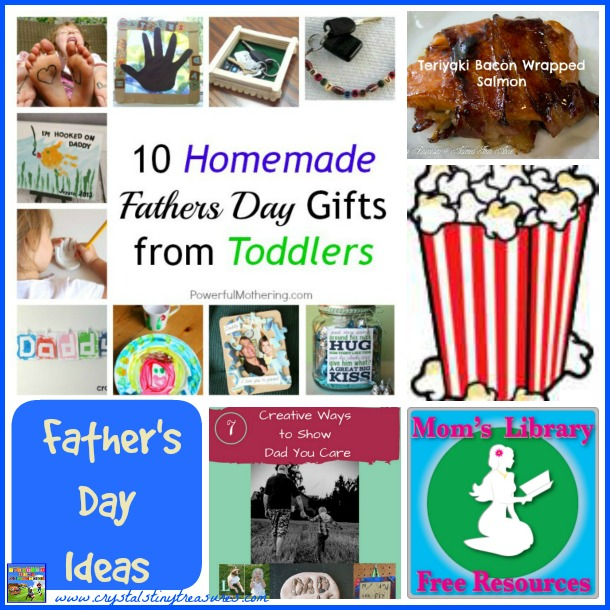 19 Father's Day Ideas on Mom's Library at Crystal's Tiny Treasures