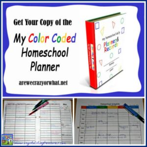 My Color Coded Homeschool Planner Review
