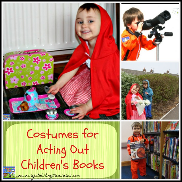 Costumes for Acting Out Children's Books
