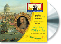 My Name is Handel The Story of Water Music, classical music for children, photo
