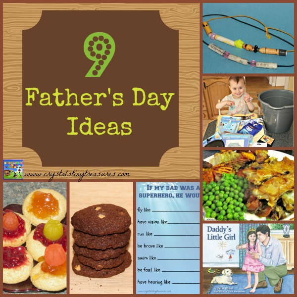 9 Father's Day Ideas by Crystal's Tiny Treasures