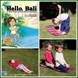 Hello, Bali A Kids Yoga island Adventure Book Review