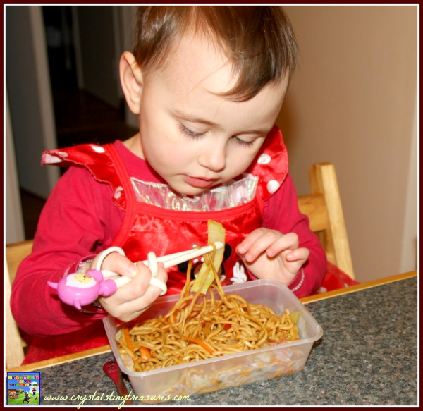 Kids love trying new foods, Crystal's Tiny Treasures, Asian recipes, festival recipes, photo