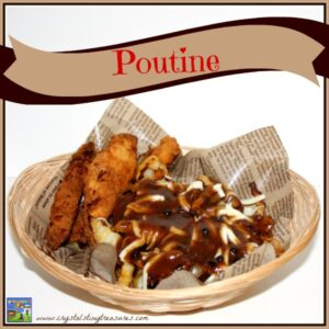 Homemade Canadian Poutine by Crystal's Tiny Treasures
