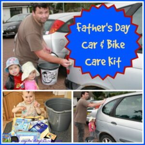 Car and Bike Care Kit for Father's Day by Crystal's Tiny Treasures, photo