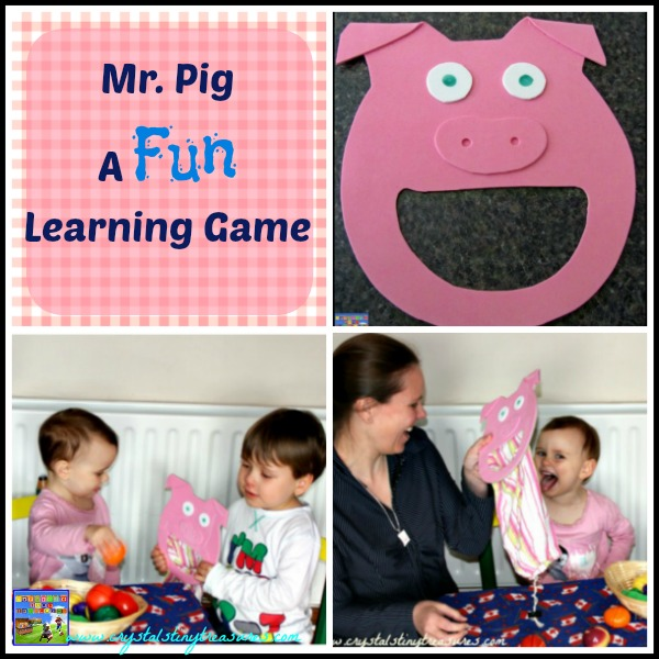 Mr. Pig Fun Games for kids by Crystal's Tiny Treasures