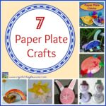 7 Paper Plate Crafts by Crystal's Tiny Treasures