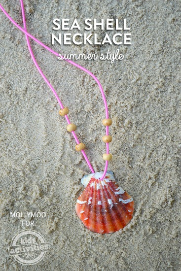 DIY-sea-shell-necklace