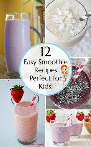 Easy Smoothie Recipes Breakfast ideas for Kids, photo