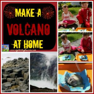 Make a Volcano at home with Crystal's Tiny Treasures