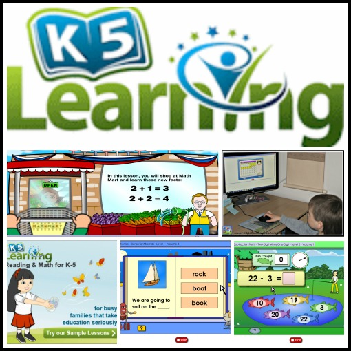 K5 Learning Review by Crystal's Tiny Treasures