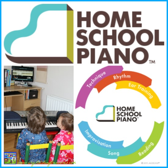 HomeSchool Piano Lessons Review by Crystal's Tiny Treasures