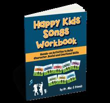Happy Kids Songs Workbook