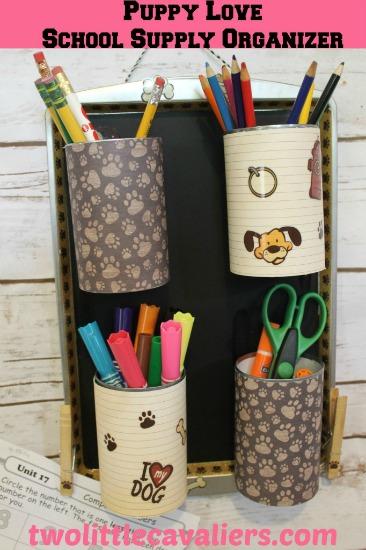 Puppy-Love-DIY-School-Supply-Organizer-DIY-on-Two-Little-Cavaliers