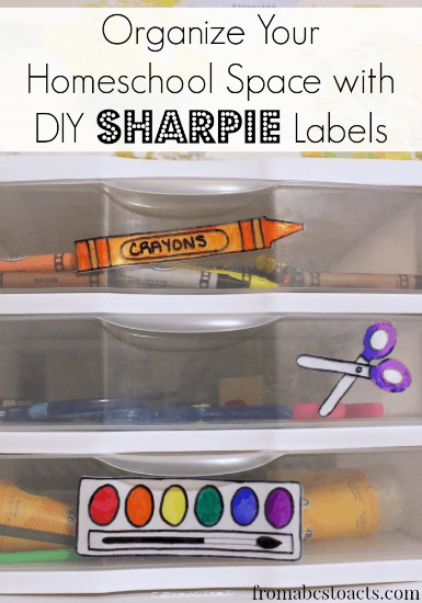Organize-homeschool-spaces-with-DIY-Sharpie-labels