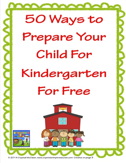 50 things to do at home for pre-Kindergarten skills, photo