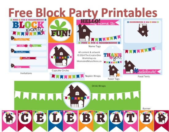 block-party-printables, photo