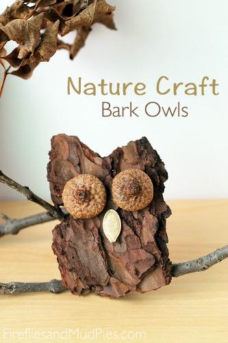 Bark-Owl-Nature-Craft-Fireflies-and-Mud-Pies