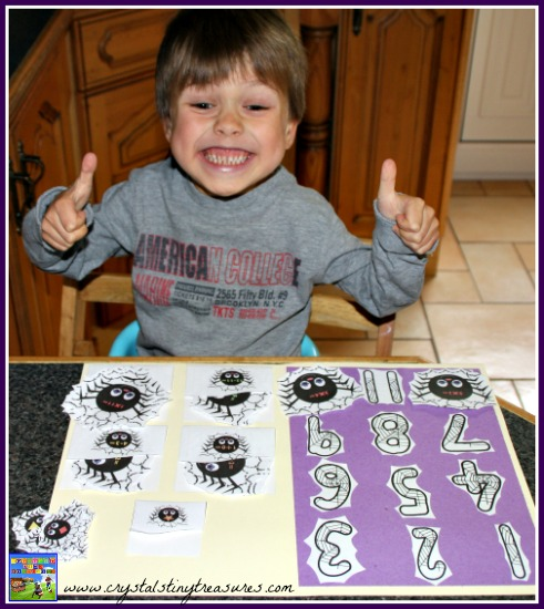Halloween file folder games are fun, Halloween math games, K-2 math games, photo