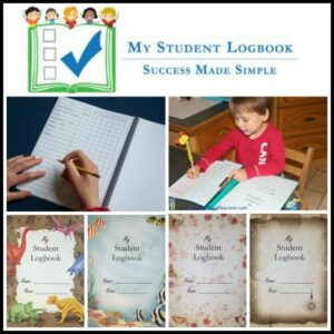My Student Logbook review by Crystal's Tiny Treasures