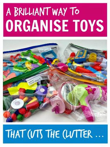 a Brilliant Way ot Organise Toys