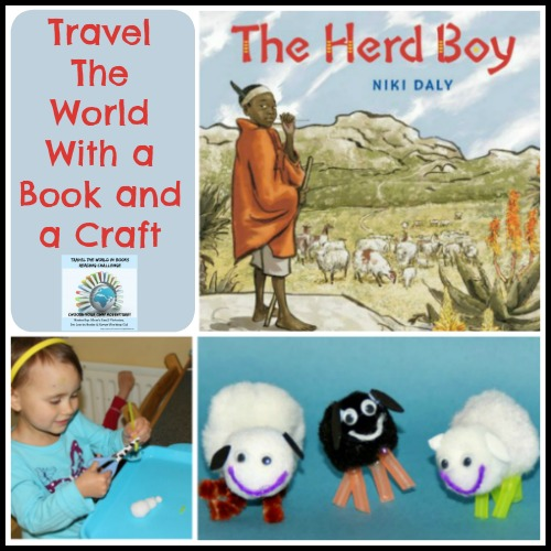 The Herd Boy Travel the World with a book and a craft
